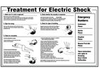 Electrical shock notice.