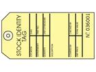 Stock identity tag