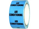 Air conditioning pipeline identification tape.