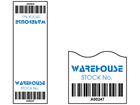 Scanmark cable wrap barcode label (full design), 75mm x 25mm