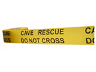 Cave rescue, do not cross barrier tape