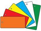 70mm x 152mm Plastic Tags (Rectangular)