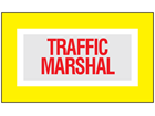 Traffic marshal safety armband