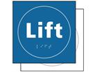 Lift sign.