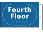 Fourth floor sign.