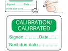 Calibration calibrated label