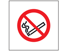 No smoking symbol safety sign.