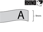 Dymo Rhino polyester tape (9mm)