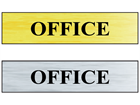 Office public area sign