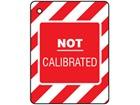 Not calibrated tag.