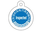 Inspected month and year tag