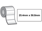 Tamper evident labels, 25.4mm x 50.8mm