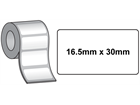 Tamper evident labels, 16.5mm x 30mm