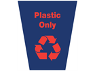 Plastic only waste sack
