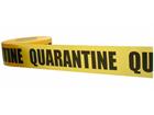 Quarantine barrier tape