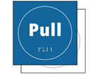 Pull symbol sign.