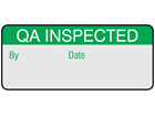 QA inspected aluminium foil labels.