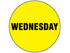 Wednesday inventory date label