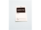 Inspected tag