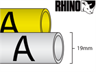 Dymo Rhino heat shrink tube tape (19mm)
