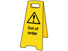 A-board, out of order