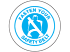 Fasten your seat belt sign
