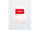 Failed tag