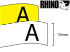 Dymo Rhino vinyl tape (19mm)