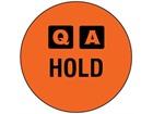 QA Hold label