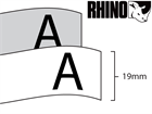 Dymo Rhino polyester tape (19mm)