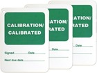 Calibration, calibrated tag.
