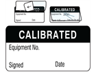 Calibrated jumbo write and seal labels.