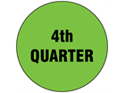 Fourth quarter inventory date label