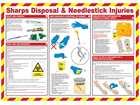 Sharps disposal and needlestick injuries treatment guide.