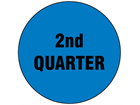 Second quarter inventory date label