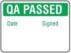 QA Passed label