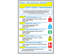 Safety signs and their meaning pocket guide
