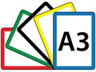 Sign frames, A3 size
