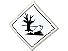 Marine pollutant, hazard diamond Sign