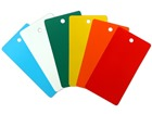 Rectangular Plastic Tags (Blank, 55mm x 102mm)
