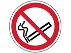 No smoking symbol floor graphic marker.