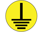 Earth symbol label.