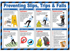 Preventing, slips, trips and falls guide.