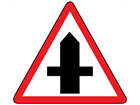 Crossroads sign