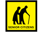 Senior citizens sign