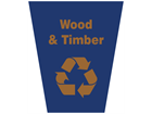 Wood and timber waste sack