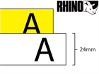 Dymo Rhino nylon tape (24mm)