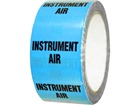Instrument air pipeline identification tape.