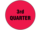 Third quarter inventory date label