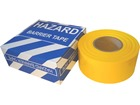 Yellow plain barrier tape.